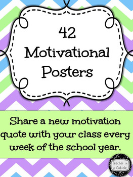 42 Motivational Quote Posters