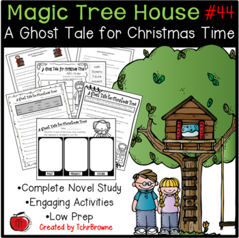 #44 A Ghost Tale for Christmas Time Novel Study