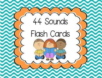44 Sounds Flash Cards