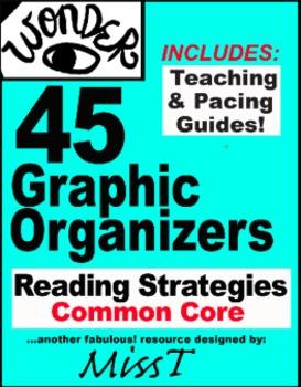 45 Graphic Organizers For Wonder R.J. Palacio