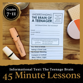 45 Minute Lesson Informational Text Foldable: Exploring th