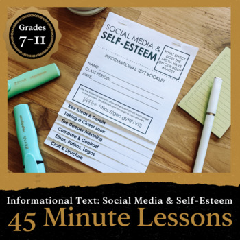 45 Minute Lesson Informational Text Foldable: The Media &