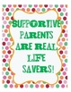 45 Parent Appreciation Labels and Signs