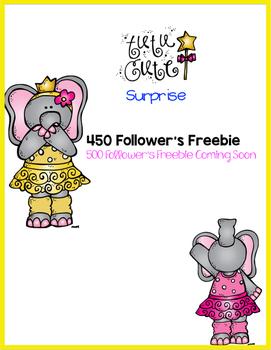 450 Follower's Freebie