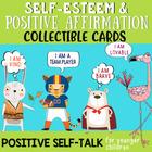 Positive Affirmation Brag Tags & Self-Esteem Cards for Children