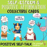 Positive Affirmation Brag Tags & Self-Esteem Cards: Teachi
