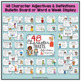 Character Traits Adjectives definitions and activity packet