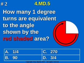 4.MD.5 4th Grade Common Core Math - Recognize angles as ge