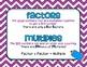 4.OA.4 Factors & Multiples Posters