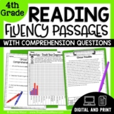 Reading Fluency and Comprehension - 4th Grade