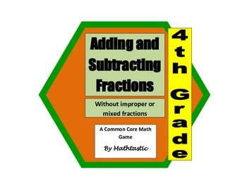 4th Grade Adding and Subtracting Fractions (Using Models)