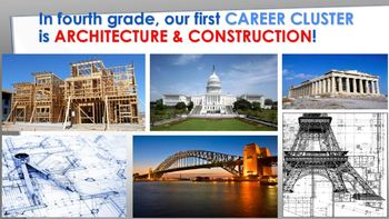 4th Grade - Architecture and Construction Career Cluster PPT