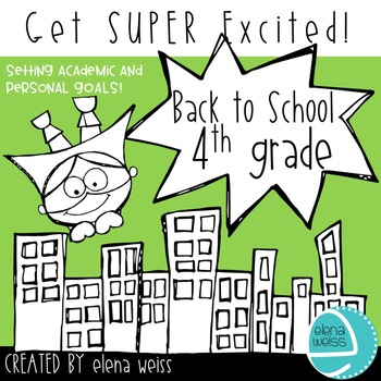 Back to School Writing Activities 4th Grade