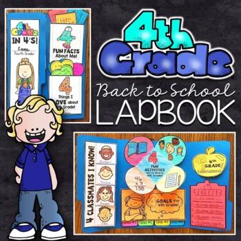 4th Grade Back to School Lapbook