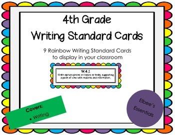 4th Grade CCSS Rainbow Cards