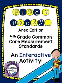 4th Grade Common Core Area (Find a Buddy)