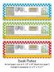 4th Grade Common Core Desk Plates Dots