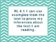 """4th Grade Common Core ELA """"I Can"""" Statements/Learning Targ"""