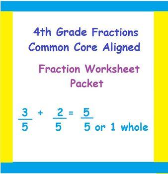 4th Grade Common-Core Fraction Word Problems, Multiplicati