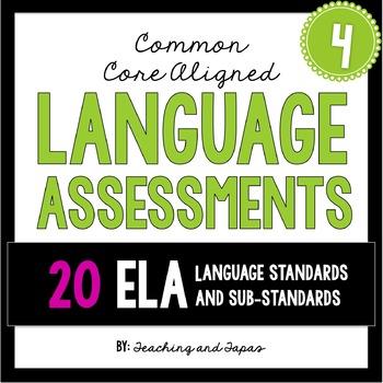 4th Grade Common Core Language Assessment