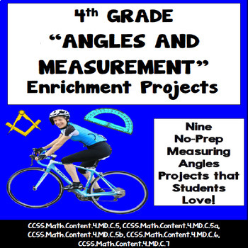 4th Grade Angles Creative Enrichment Projects, Vocabulary