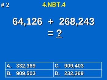 4th Grade Common Core Math - Add and Subtract Multi-Digit