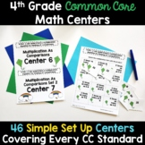 4th Grade Math Centers -Covers ALL 4th Grade Math Standards
