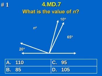4th Grade Common Core Math Comprehensive Practice #1 All 2