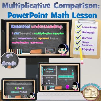 4th Grade Common Core Math Lesson: 4.OA.1 & 4.OA.2 - Multi