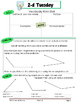 4th Grade Common Core Math Review:  BUNDLED 2nd 9 Weeks