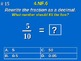 4th Grade Common Core Math - Use Decimal Notation for Frac