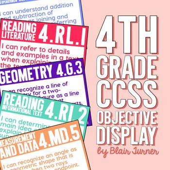 4th Grade Common Core Objectives