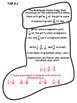 4th Grade Common Core Open Ended Christmas Math Assessment