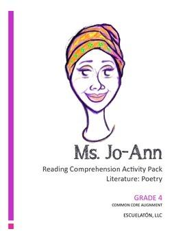 4th Grade Common Core Poetry Lesson: Reading Comprehension