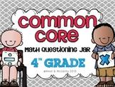 4th Grade Common Core Questioning Jar {220+ questions}