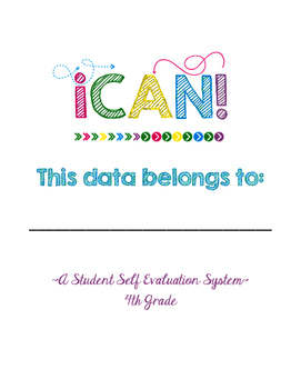 4th Grade Common Core Student Self-Eval. Data Tracker
