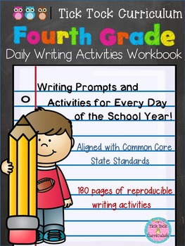 4th Grade Daily Writing Activities Workbook