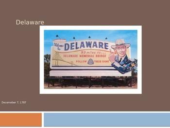 4th Grade Delaware State Information Presentation