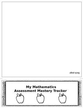 4th Grade Math Common Core Student Mastery Tracking Flip Book