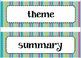 4th Grade ELA Common Core Word Wall Cards