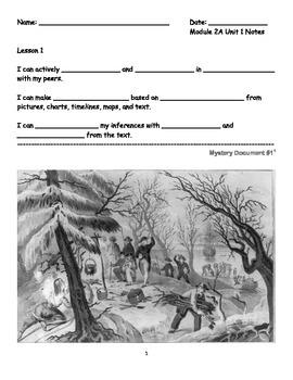 4th Grade ELA Module 2A Unit 1 Notes