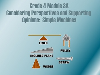 4th Grade ELA Module 3A Unit 1 Lessons and Resources