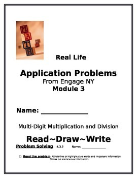 4th Grade: Engage NY Module 3 Application Problems, Read:D