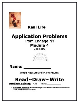 4th Grade: Engage NY Module 4 Application Problems, Read:D