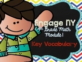 4th Grade EngageNY/Eureka Math - Module 1 Key Vocabulary D