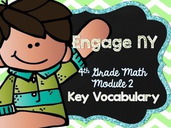 4th Grade EngageNY/Eureka Math - Module 2 Key Vocabulary D