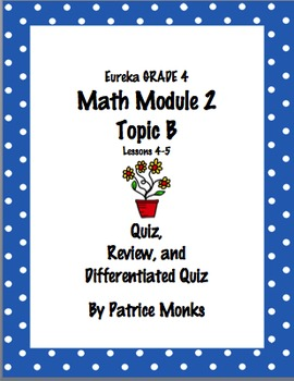4th Grade Eureka Math Module 2 Topic B (Lessons 4-5) Diffe