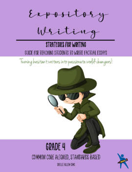 Expository Writing 4th Grade Common Core  Writing Lady She