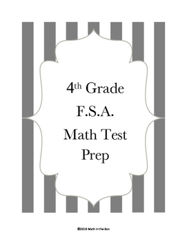 4th Grade FSA Math Test Prep - Session 1