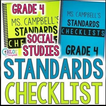 4th Grade Florida Social Studies Standards Checklist